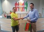 Samsung Galaxy S8 v soutěži s mBank a naším serverem předán vítězi